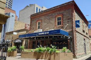 Hains & Co adelaide bars