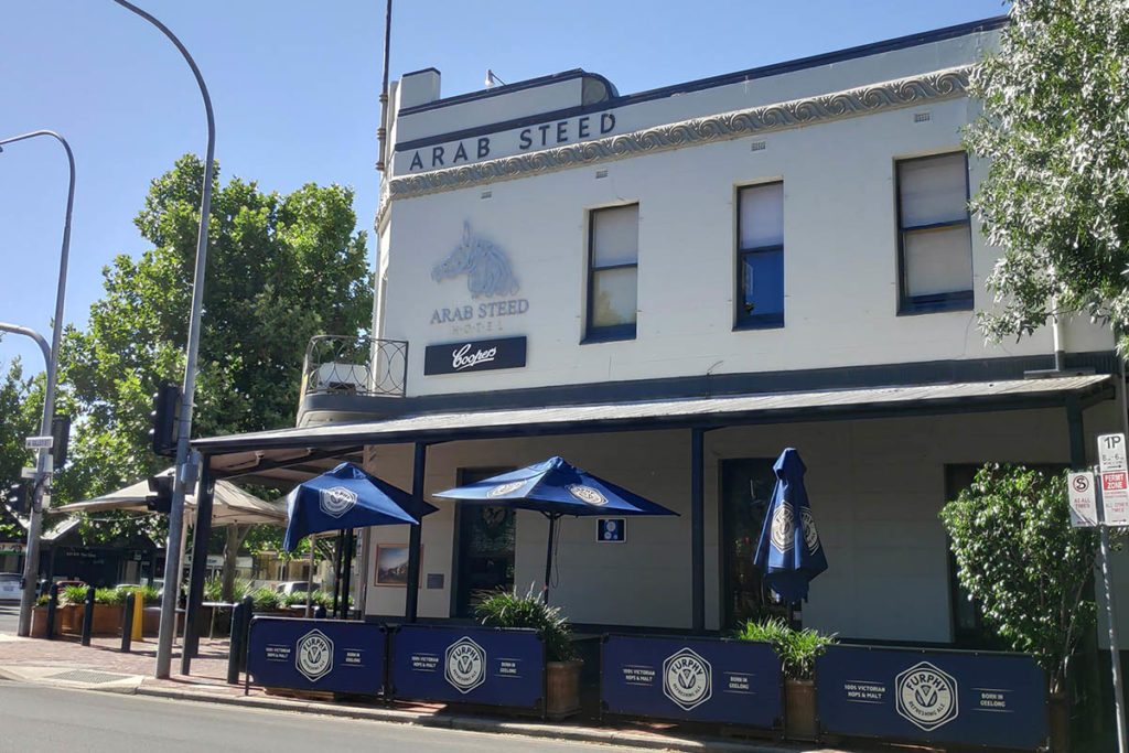Arab Steed Bar Adelaide