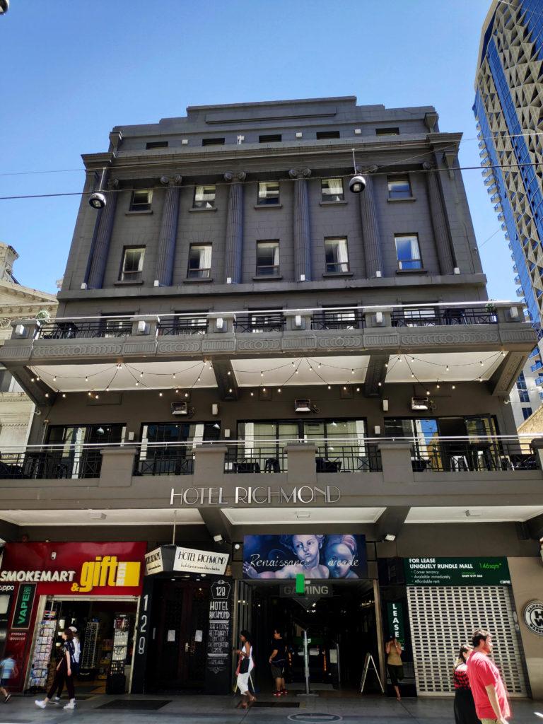 Hotel richmond Adelaide