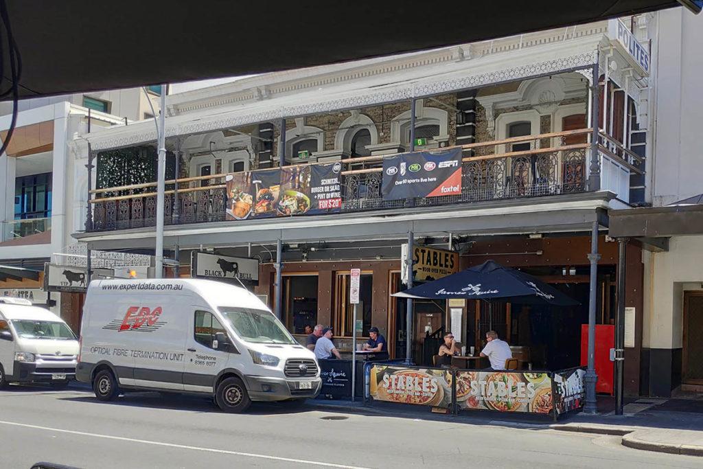 Black Bull Bar Adelaide